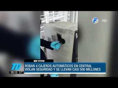 Hackean cajeros del BNF y roban cientos de millones