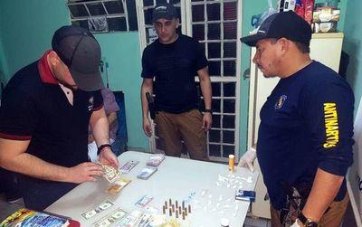 Detienen a un hombre con cocaína y dinero en Pedro Juan Caballero