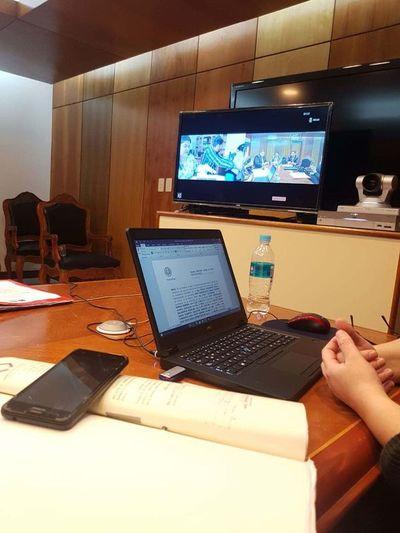 Audiencia preliminar vía videoconferencia