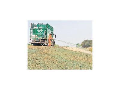 Implementan hidrosiembra en nueva ruta