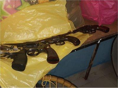 Crimen de hincha olimpista: Tres detenidos y armas de fuego incautadas