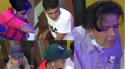 Identifican a presuntos autores del robo a cajeros del BNF