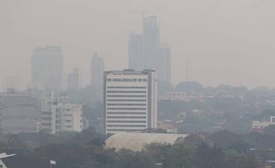 HOY / Humo de incendios forestales es cancerígeno y permanecerá en el ambiente al menos dos meses