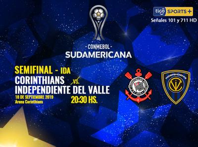Corinthians e Independiente del Valle abren las semifinales