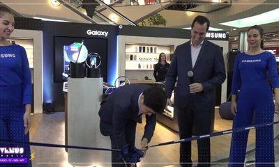 Samsung realizó la apertura oficial de su nueva tienda en el Shopping del Sol