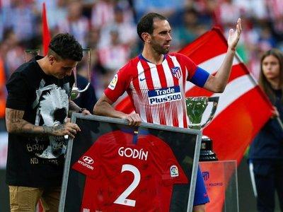"""Godín: """"El Inter me recuerda el Atlético que ganó la Liga en 2014"""""""