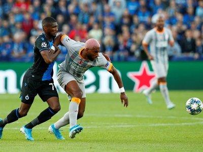 Un Brujas con intención pero sin gol concede el empate al Galatasaray