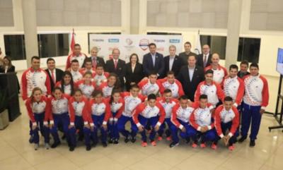 HOY / Presentan a la delegación que va a los Juegos de Playa en Qatar