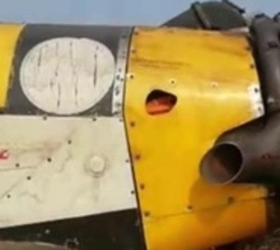 Avión hidrante capotó en el Chaco
