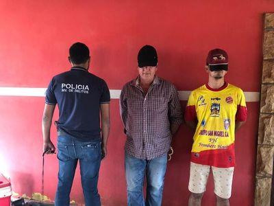 Dos detenidos por el doble homicidio ocurrido en Coronel Oviedo