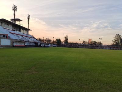 Estadio definido para Gral. Díaz vs. Cerro Porteño