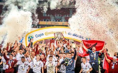 Paranaense conquista su primera Copa de Brasil