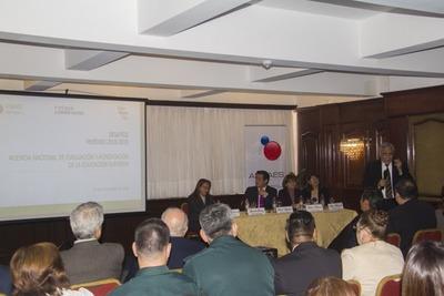 ANEAES recibió reconocimiento de autoridades educativas en rendición de cuentas
