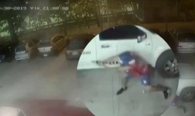 Hinchas dicen que solo fingían disparar durante pelea en la SND