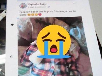 Mamá denunciada por su ex niega que hayan sedado a su bebé