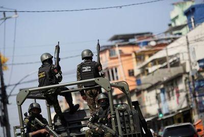 Cinco muertos en acción antidrogas en complejo de favelas de Río de Janeiro