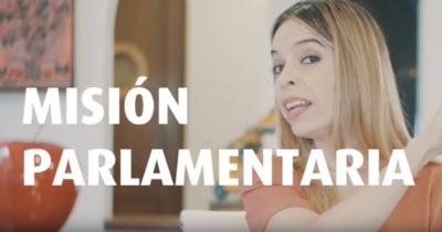 """HOY / Belén dispara contra ostentosos viajes de políticos y es viral: """"Los diputados son nomás luego valé"""""""