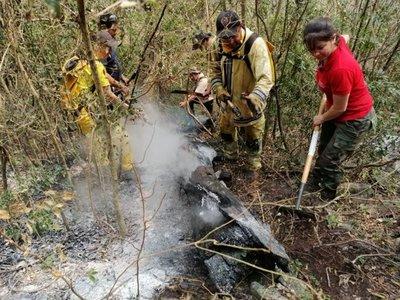 Las condiciones del tiempo reavivan el fuego en Alto Paraguay