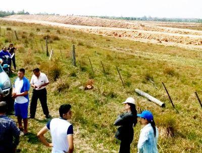 Sin licencia, construyeron vertedero en Yaguarón