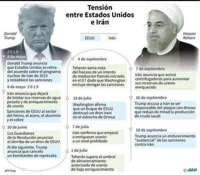 """Pompeo afirma que EE.UU. prefiere """"solución pacífica"""" al pulso con Irán"""