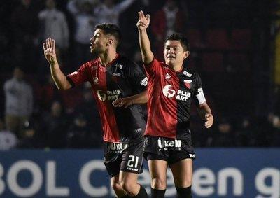 Copa Sudamericana: Colón aventaja por la mínima diferencia al Mineiro