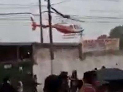 Helicóptero no tenía permiso para aterrizar, según la Dinac