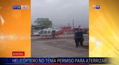 Alumna se mueve en helicóptero para llegar a tiempo a olimpiadas