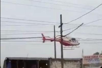 HOY / Helicóptero no tenía permiso para aterrizar, según Dinac