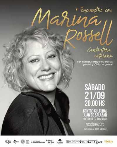 Cantautora catalana mantendrá un encuentro con músicos paraguayos este sábado