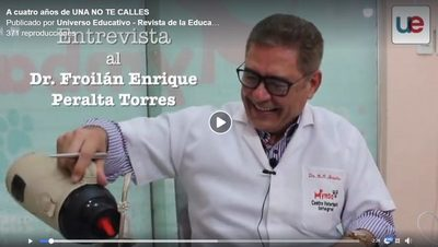 """Froilan Peralta Dijo que si escribiera toda su vida en un libro lo titularía """"#UnaNoTeCalles"""""""