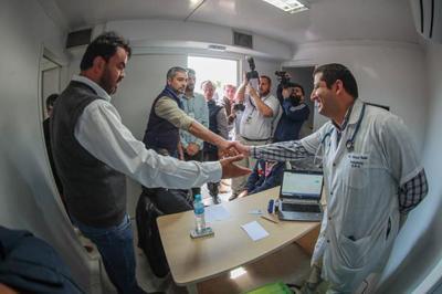 Jornada gubernativa con atención a salud y educación en Ñeembucú