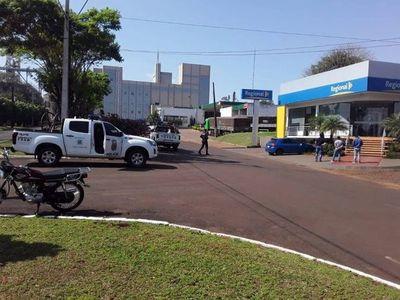 Frustran asalto a banco en Itapúa