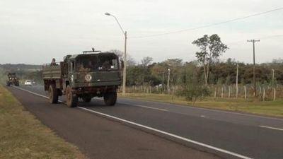 Abdo Benítez cambia Grau nombra a Oscar Marcial Chamorro como nuevo comandante de la Fuerza de Tarea Conjunta