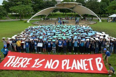 Centenares de miles de estudiantes lanzan una huelga global contra el cambio climático