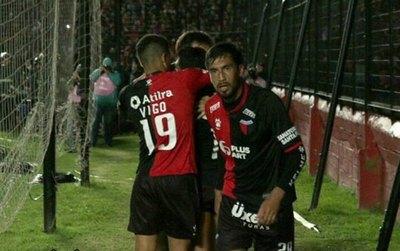 Con Estigarribia, Colón a un paso de la final de la Sudamericana