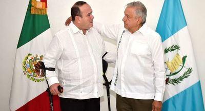 López Obrador recibe en México al presidente electo guatemalteco Giammattei