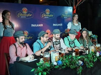 Lanzan nueva edición del Oktoberfest en el microcentro