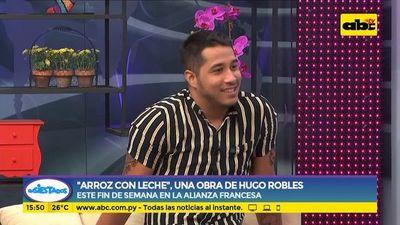 """Arroz con leche"", una obra de Hugo Robles"