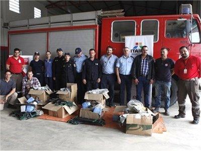 Bomberos del Chaco recibieron equipos para combatir incendios forestales