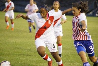 Jéssica Sánchez lideró la goleada de Paraguay ante Perú