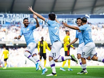 El City firma la mayor goleada de su historia en la Premier League