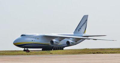 El cuarto avión más grande del mundo aterrizó en Alto Paraná