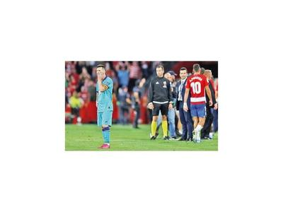 No pudo ni con Messi