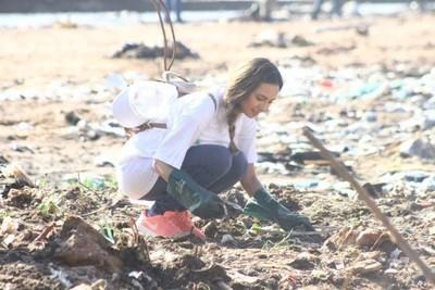 Voluntarios realizaron limpieza de la Bahía de Asunción