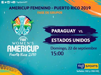 Paraguay y una dura prueba en la AmeriCup femenina