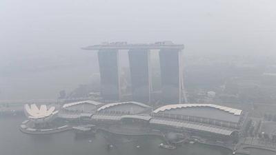 HOY / La polución del aire alcanza niveles insalubres antes de la F1 en Singapur