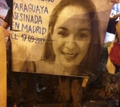 Paraguayos en España se movilizan contra feminicidios