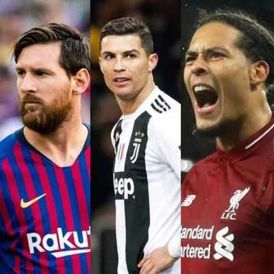 Ronaldo, Messi y Van Dijk pujan por el premio The Best a mejor jugador del año
