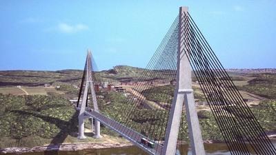 Inicia construcción del Puente de la Integración