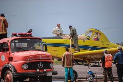 Gestionan más helicópteros y avión para hacer frente a incendios
